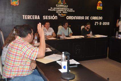 Cabildo aprueba solicitud de préstamo por de 25 millones de pesos