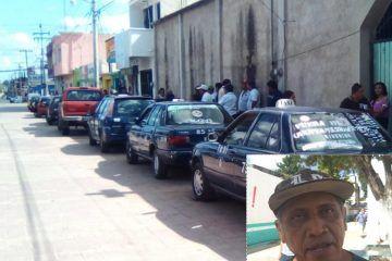 Trasporte público de la ruta de Sabán demandan un sitio de carga en la cabecera municipal