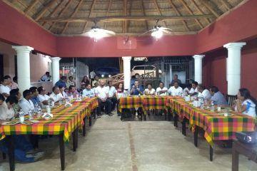 Sostiene nuevo gobierno diálogo con dignatarios mayas