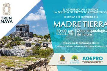 Prepara Tulum ceremonia alterna para inicio del Tren Maya