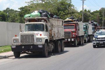 Aun con deficiencias en la recoja de basura en el municipio de OPB