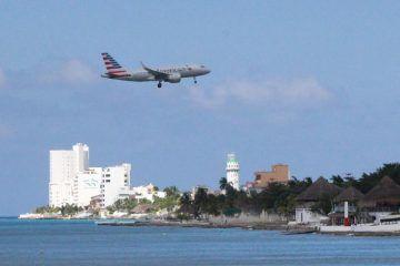"""Aeropuerto de Cozumel, sin cambios por """"Harold"""""""