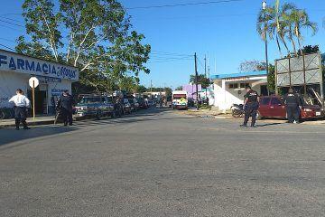 Choca autobús en Felipe Carrillo Puerto; mueren 2 y más de 20 quedan heridos