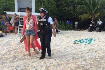 Mujer extraviada en Playa del Carmen, ya de regreso con su familia