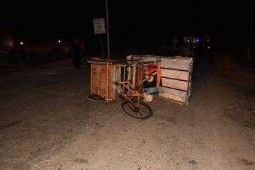 Siguen los percances por la remodelación de calles en JMM; moto arrolló a triciclo