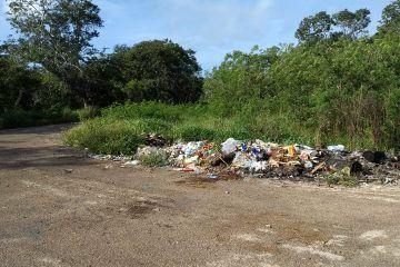 Tiraderos de basura en la zona afecta a los pobladores de San Felipe Segundo