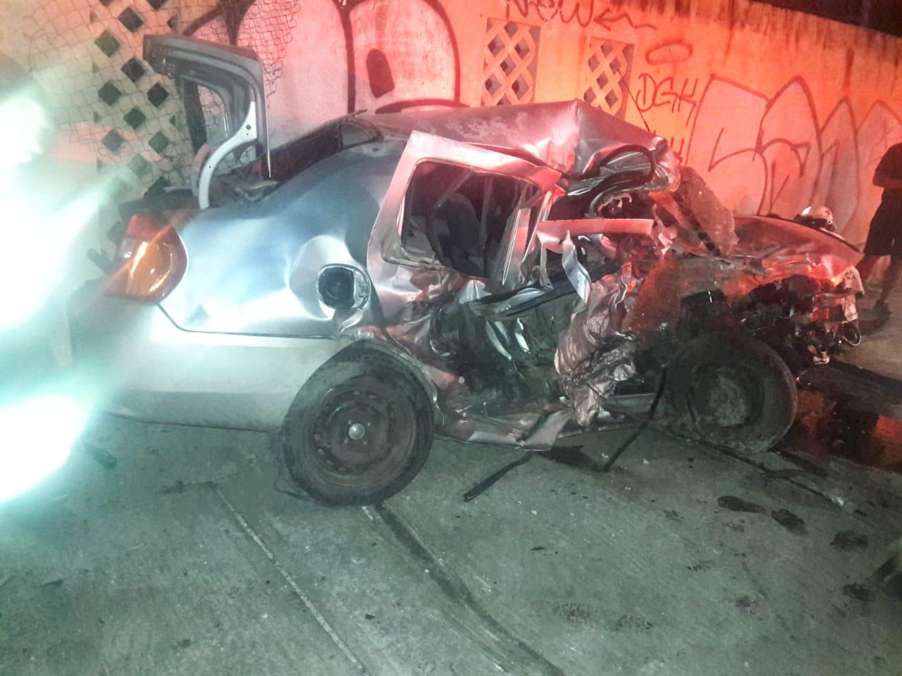 Sufre Mario Machuca accidente automovilístico