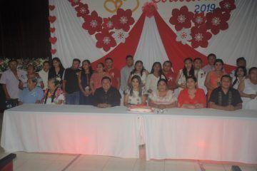 Bodas Colectivas 2019, 13 parejas se unieron en matrimonio de forma gratuita