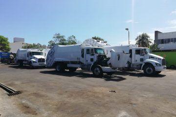 Para el martes 10 nuevas unidades recolectoras de basura en Chetumal