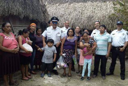PFP entrega despensas, a 40 familias de la #capitaldelaculturamaya