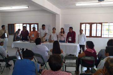 Asamblea de MORENA para seleccionar a los aspirantes para las diputaciones Plurinominales