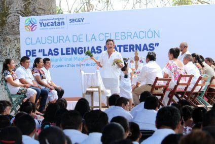 Tradiciones vivas en Xocén, comisaría sede de la clausura de la celebración del Día Internacional de las Lenguas Maternas