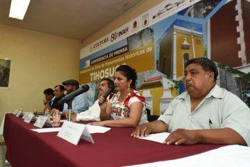 Declaratoria de monumentos históricos de Tihosuco, oportunidad de trabajar en conjunto para beneficio de la zona maya