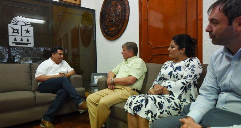 Visita embajador de Rusia en México, Congreso del Estado de Quintana Roo