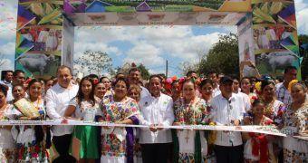 Carlos Joaquín inaugura la cuadragésima primera edición de la Feria de la Primavera Expomor 2019