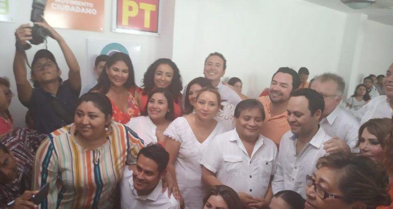 Movimiento Ciudadano dio a conocer los nombres de los candidatos y candidatas a diputados locales para el proceso electoral ordinario