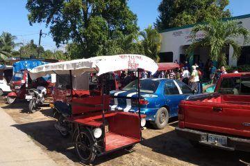 Sube precio,  8 pesos de tricitaxi en Jose Maria Morelos