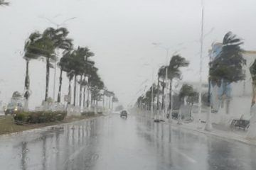 Lluvias y hasta posible turbonada por frente frío No. 44; recomiendan tomar precauciones