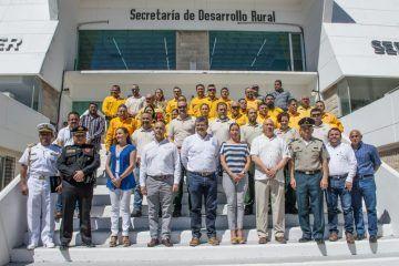 Suman esfuerzos por un combate de incendios más eficaz en Yucatán