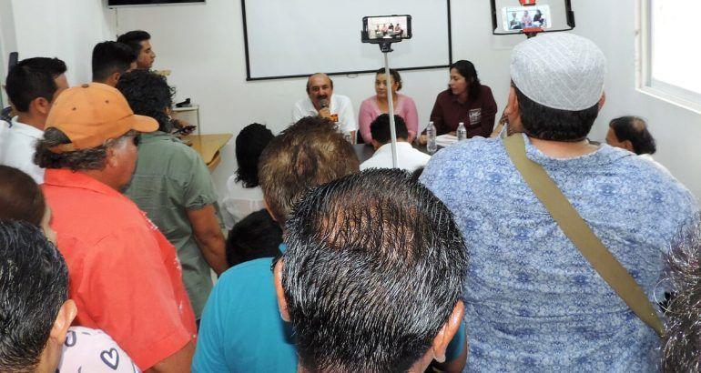"""Asegura candidato de la Coalición """"Juntos Haremos Historia Por Quintana Roo"""" ¡SOY TU AMIGO!"""