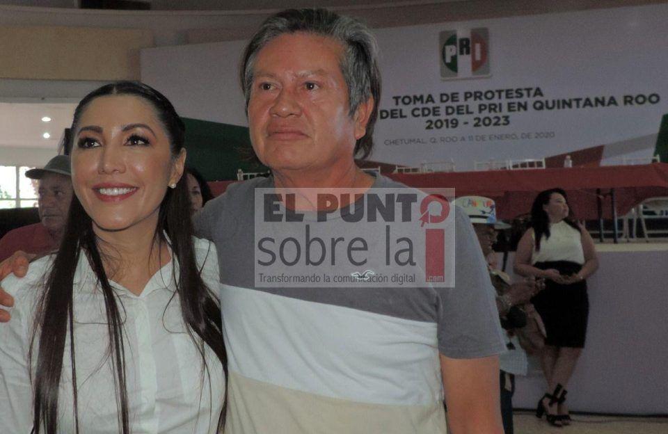 La última vez que se le vio a Tiburcio Bastián Hernández en un evento público fue el pasado 11 de enero en la toma de protesta de la nueva dirigencia del PRI que encabeza Candy Ayuso.