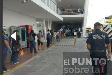 Activan protocolos de seguridad en Cozumel por amenaza de bomba