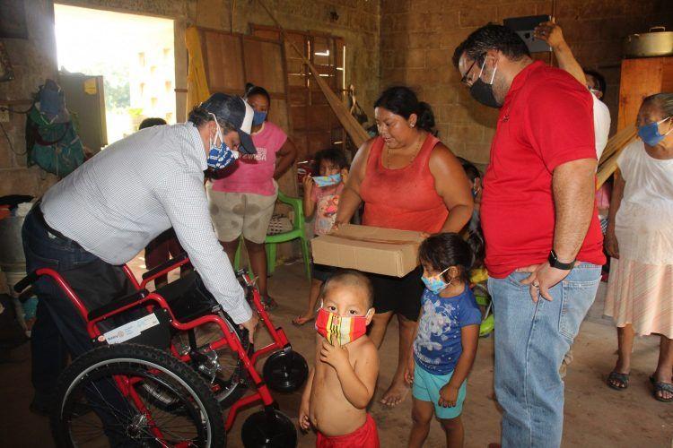 Más beneficiados con sillas de ruedas en Valladolid