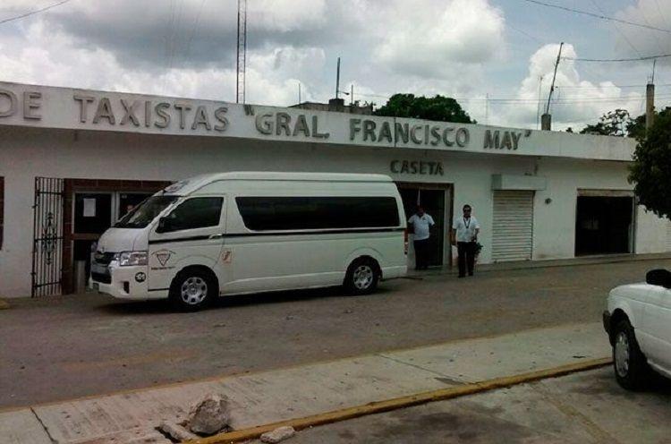 Reciben apoyo del gobierno federal Sindicato de Taxistas de Felipe Carrillo Puerto