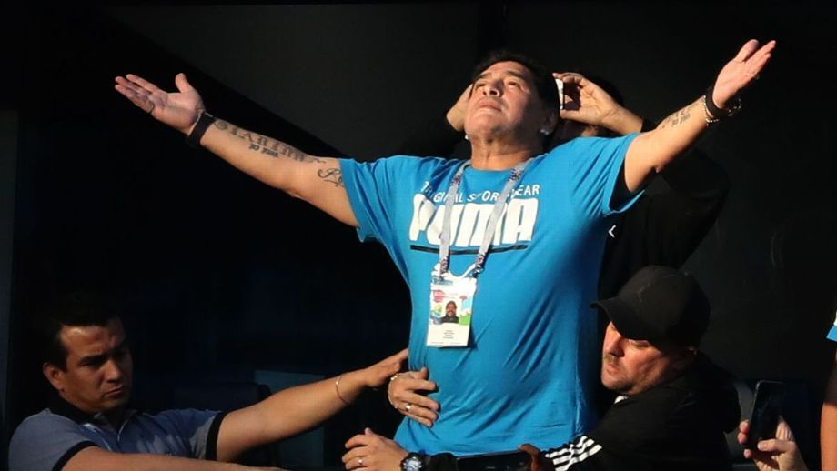 Diego Armando Maradona murió a los 60 años