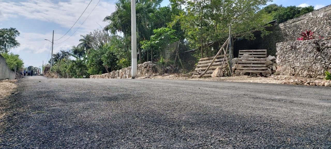 Ebtún con nuevas calles