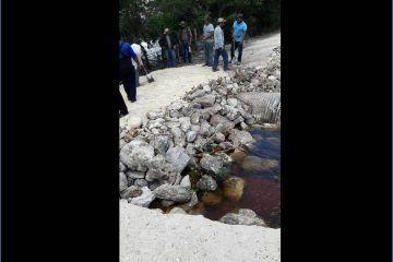 Continúa en mal estado caminos y puentes en la zona limítrofe con Campeche