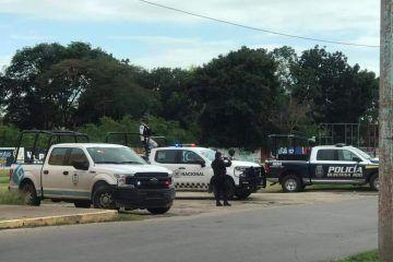 Detienen a sujetos armados en Xul-ha