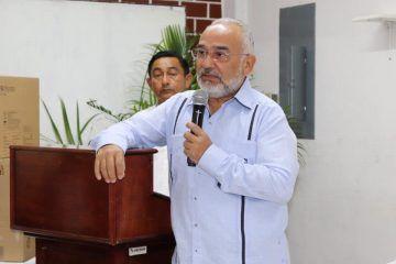 """""""Soy un chetumaleño, amo a mi tierra y la quiero ver crecer"""" Juan Ortiz Cardín"""