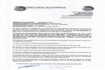 Persiste favoritismo a empresas foráneas en procesos de licitación; pide CMIC funcionarios con arraigo local