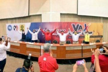 Concretan el PRI, PAN y PRDcoalición «Va por Campeche»